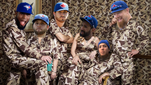Meet your 2014 bearded Blue Jays - they're good enough for all of 'em to appear on Ducks Dynasty!